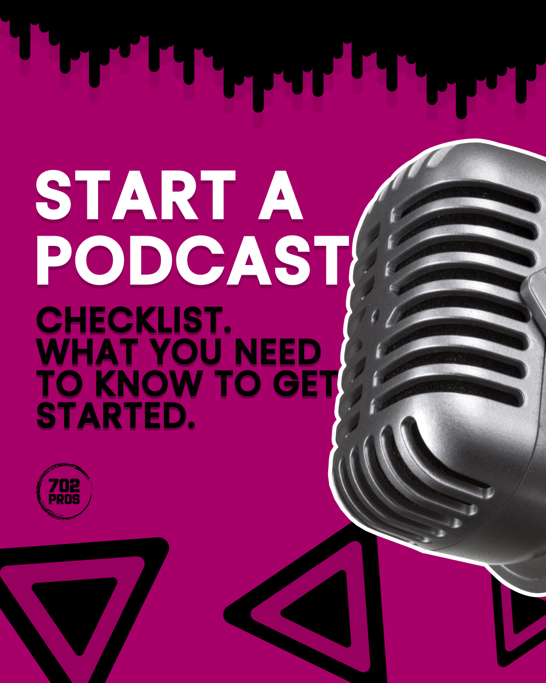 start a podcast -slide1 702 Pros | Scoutshift Portfolio