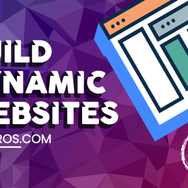 build dynamic websites with 702 pros -sidebar ad